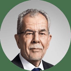 Porträtbild von Bundespräsident Alexander Van der Bellen