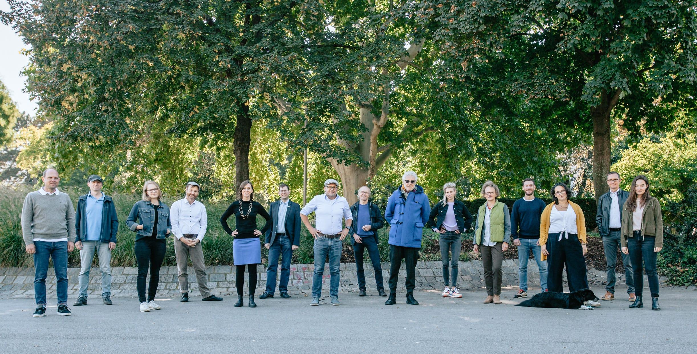 Gruppenfoto der Initiator*innen von KlimaKonkret